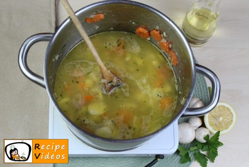 Tarragon ragout soup recipe, how to make Tarragon ragout soup step 4