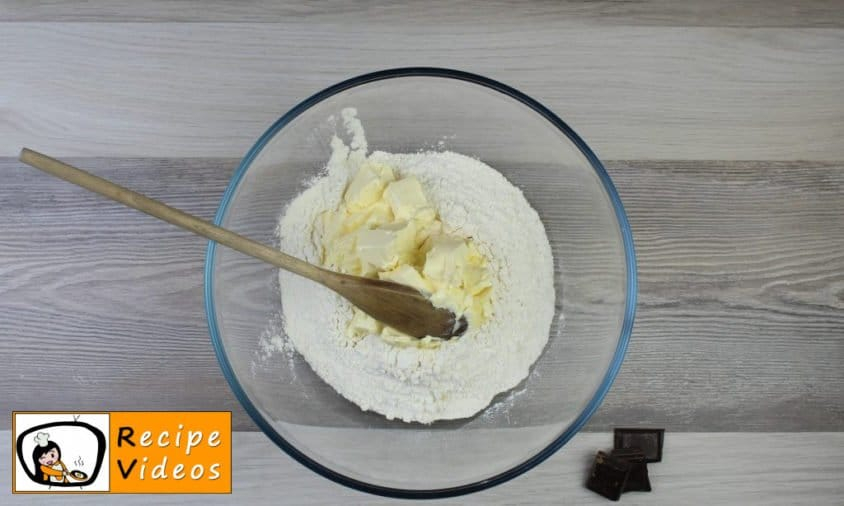 Vanilla rings recipe, prepping Vanilla rings step 1
