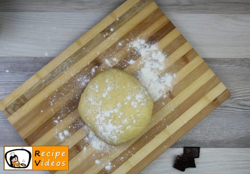 Vanilla rings recipe, prepping Vanilla rings step 4