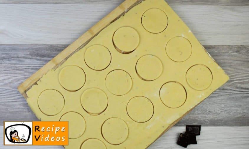Vanilla rings recipe, prepping Vanilla rings step 5