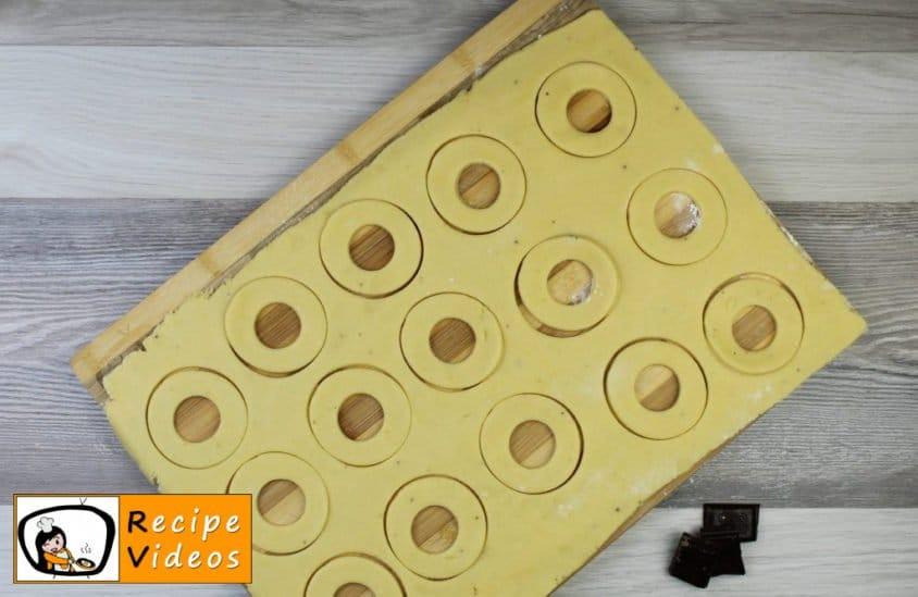 Vanilla rings recipe, prepping Vanilla rings step 6