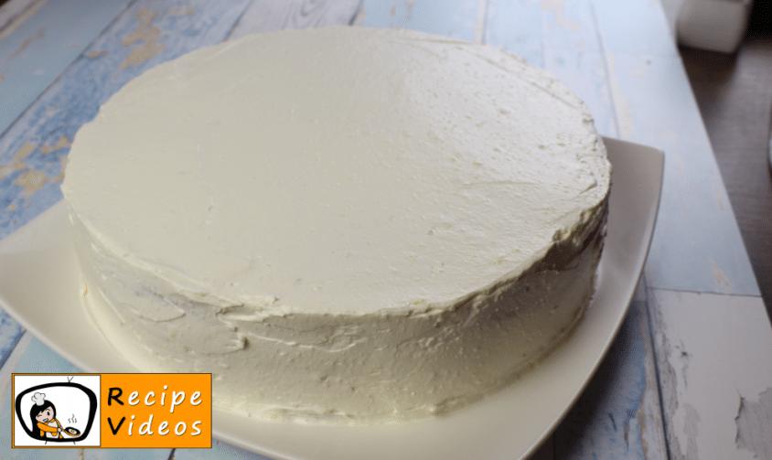Russian cream cake recipe, prepping Russian cream cake step 14