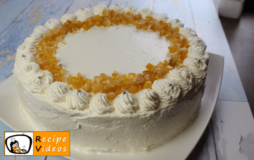 Russian cream cake recipe, prepping Russian cream cake step 15
