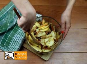 Apple rose tart recipe, how to make Apple rose tart step 3