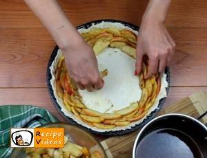 Apple rose tart recipe, how to make Apple rose tart step 7