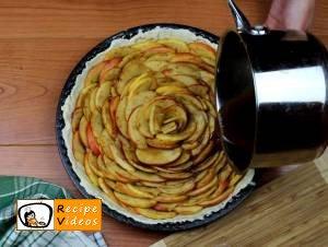 Apple rose tart recipe, prepping Apple rose tart step 8