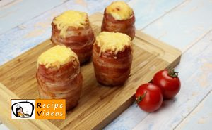 Bacon-wrapped stuffed potatoes recipe, prepping Bacon-wrapped stuffed potatoes step 8