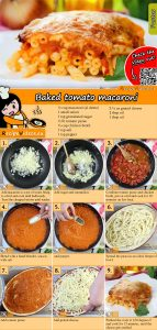 Baked tomato macaroni recipe with video