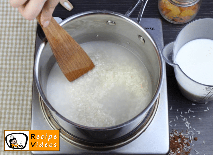 Baked rice pudding recipe, how to make Baked rice pudding step 1