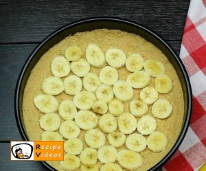 Banana cream cake recipe, how to make Banana cream cake step 3