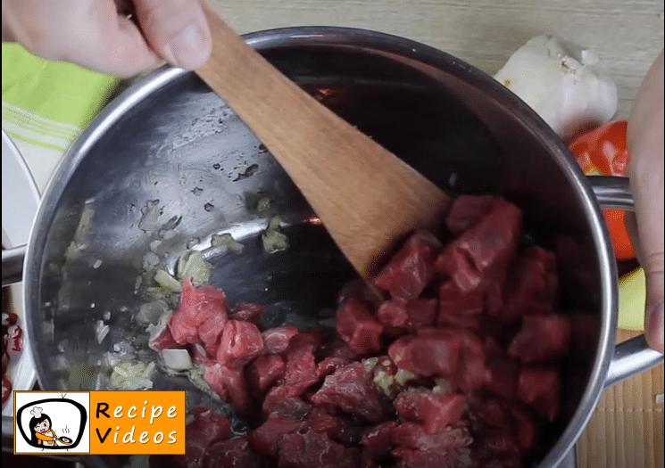 Bean goulash recipe, prepping Bean goulash step 4