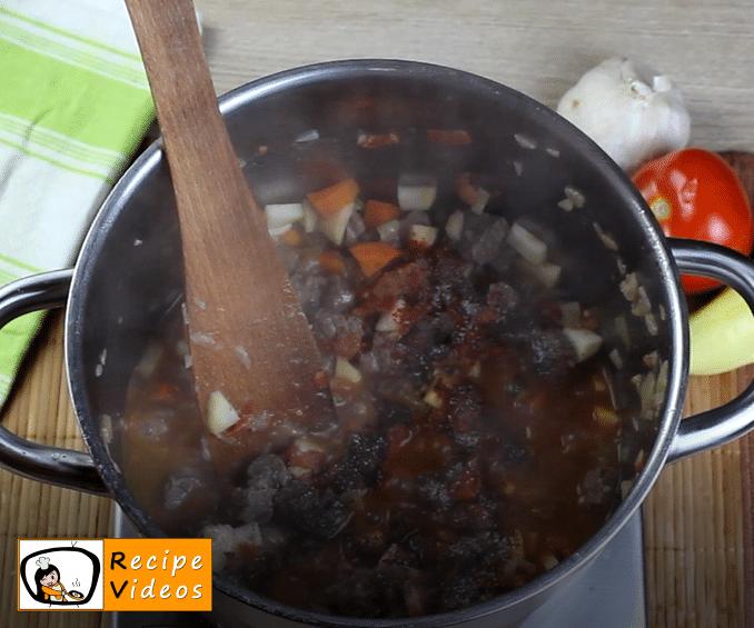Bean goulash recipe, how to make Bean goulash step 11