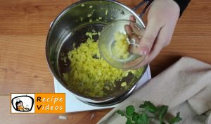 Broccoli cream soup recipe, prepping Broccoli cream soup step 2