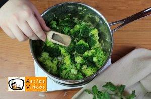 Broccoli cream soup recipe, prepping Broccoli cream soup step 6
