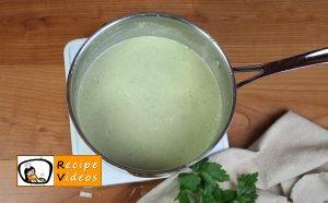 Broccoli cream soup recipe, prepping Broccoli cream soup step 10