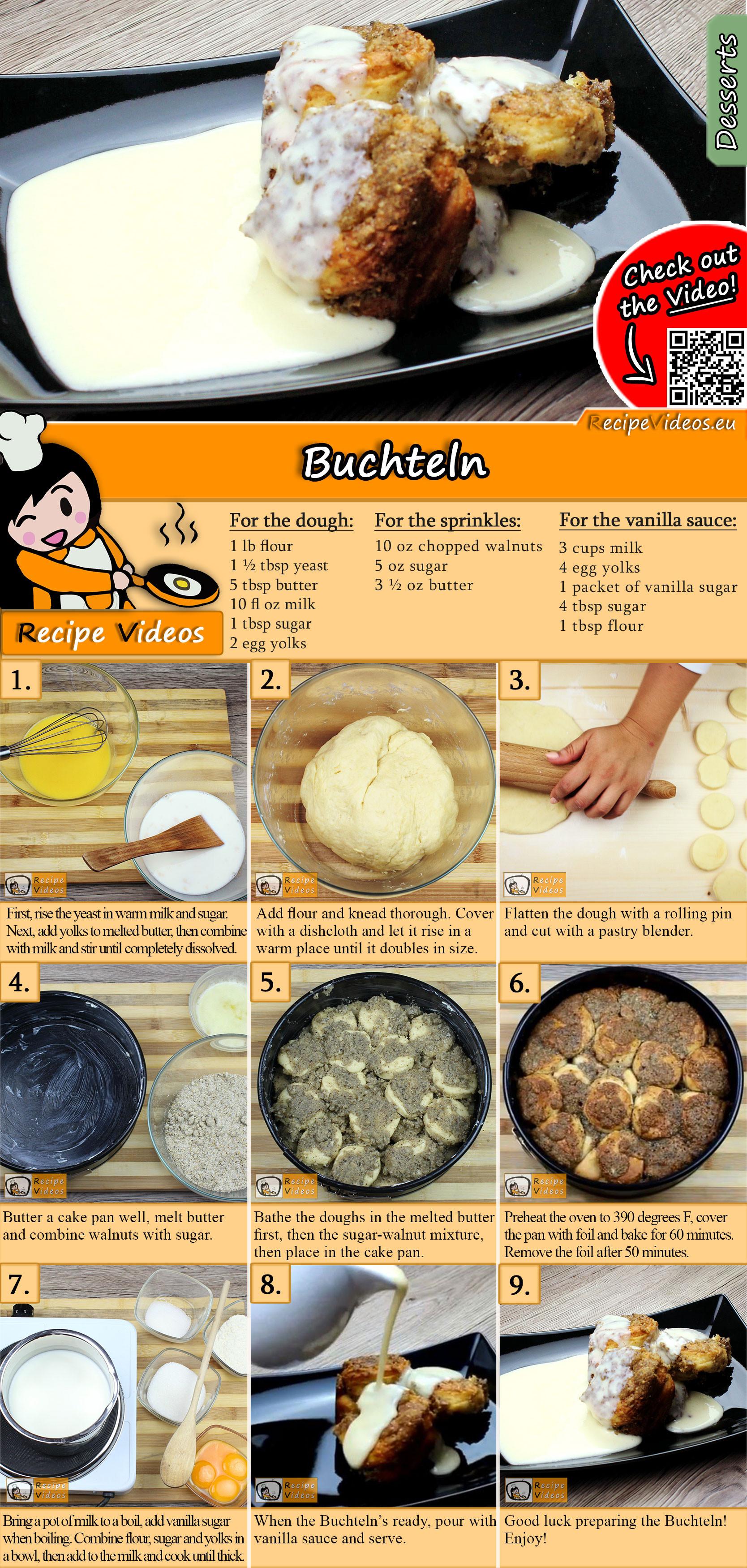 Buchteln recipe with video