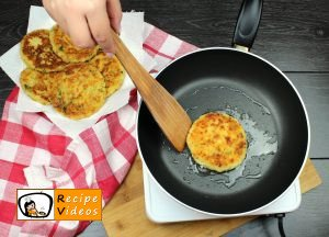 Cheese-filled potato medallions recipe, prepping Cheese-filled potato medallions step 10