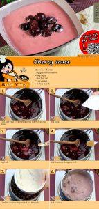 Cherry sauce recipe with video