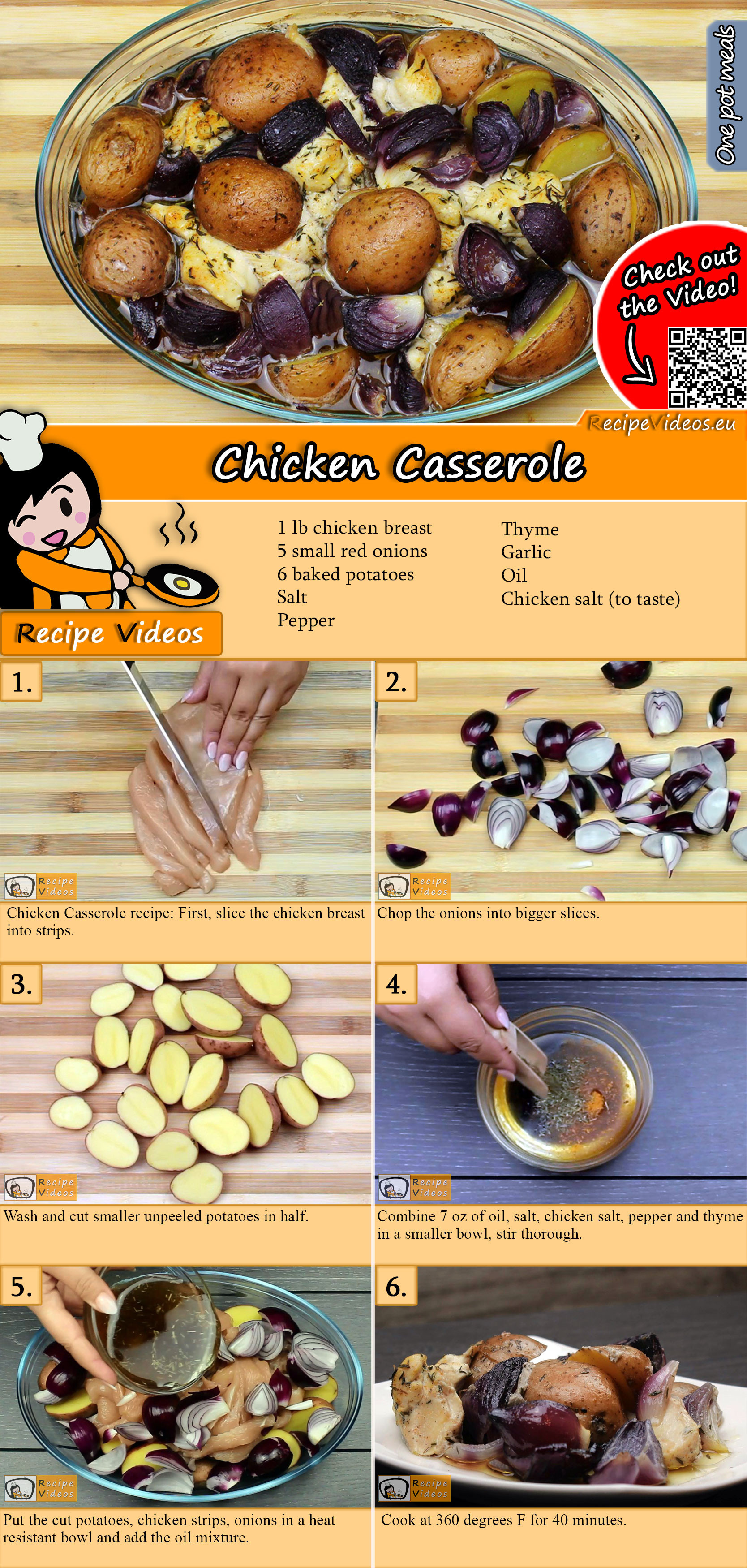 Chicken Casserole recipe with video