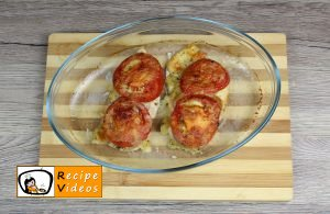 Chicken breast with mozzarella and tomatoes recipe, how to make Chicken breast with mozzarella and tomatoes step 11