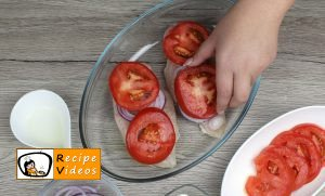 Chicken breast with mozzarella and tomatoes recipe, how to make Chicken breast with mozzarella and tomatoes step 8