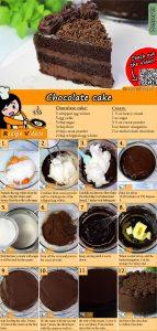 Chocolate cake recipe with video