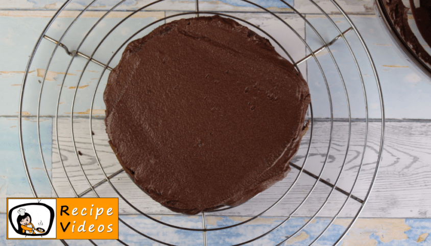 Chocolate cake recipe, prepping Chocolate cake step 10