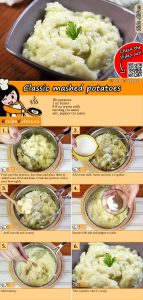 Classic mashed potatoes recipe with video