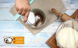 Cocoa swirl rolls recipe, how to make Cocoa swirl rolls step 1