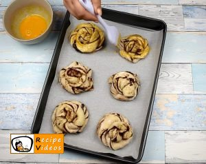 Cocoa swirl rolls recipe, how to make Cocoa swirl rolls step 6