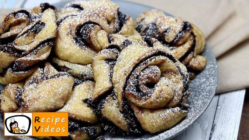 Cocoa swirl rolls