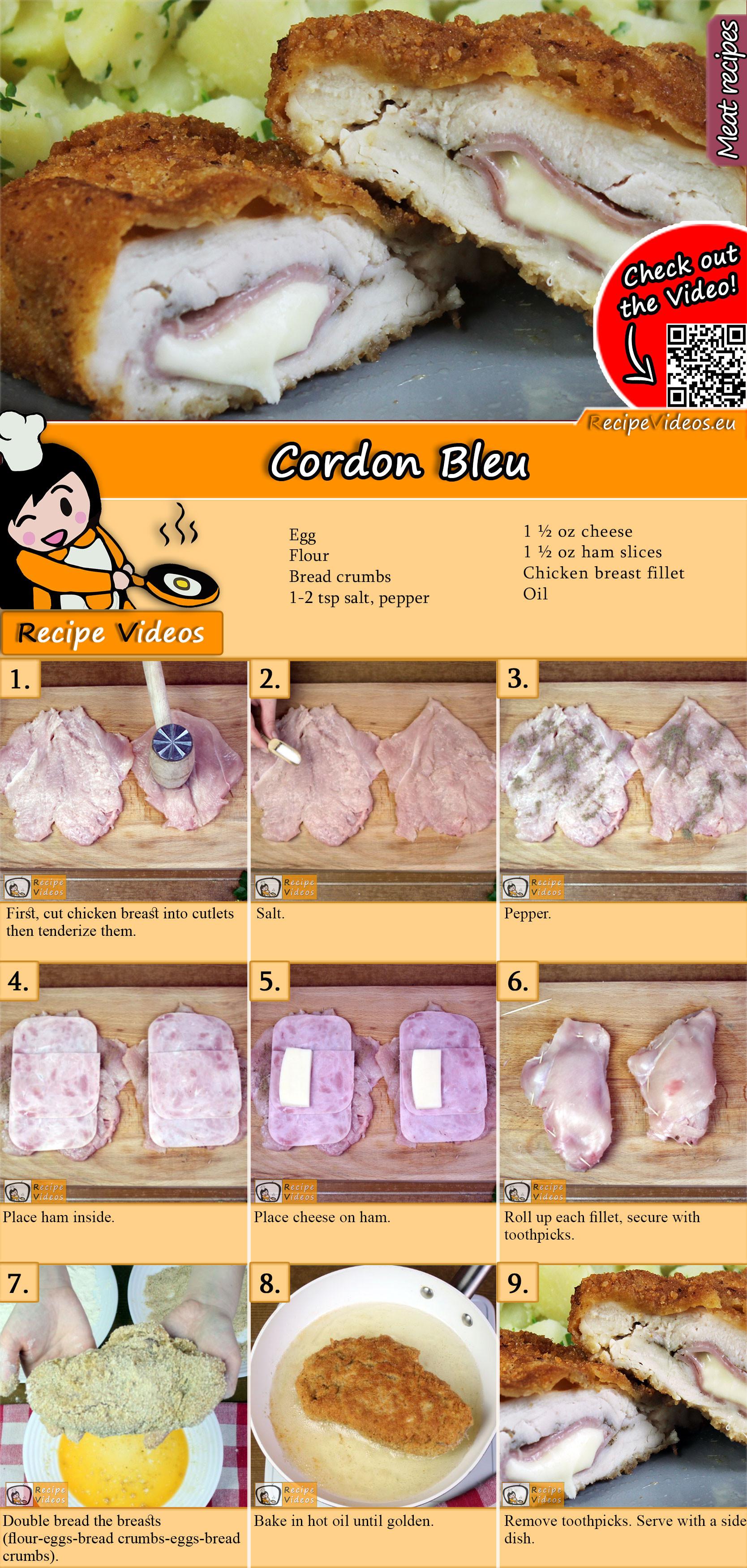 Cordon Bleu recipe with video