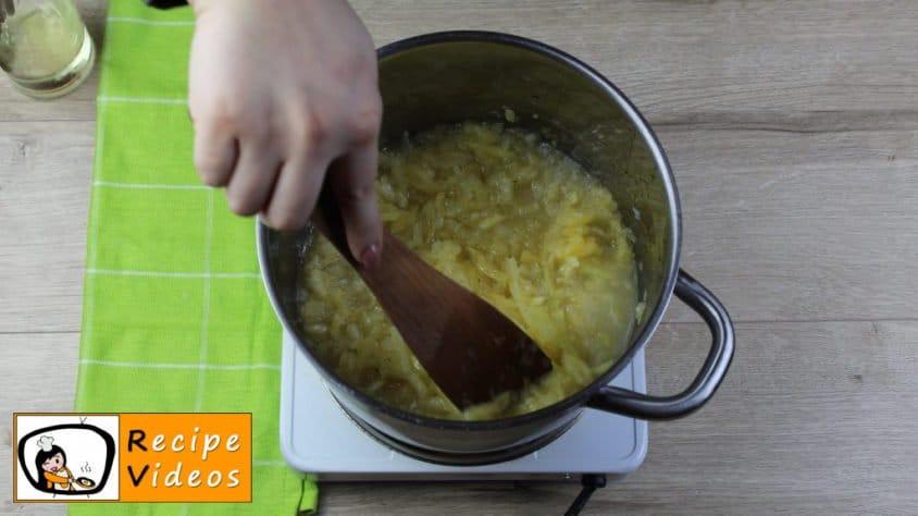 Creamy pumpkin recipe, prepping Creamy pumpkin step 2