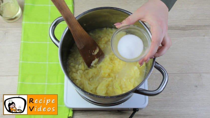 Creamy pumpkin recipe, prepping Creamy pumpkin step 3