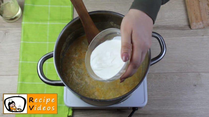 Creamy pumpkin recipe, prepping Creamy pumpkin step 5