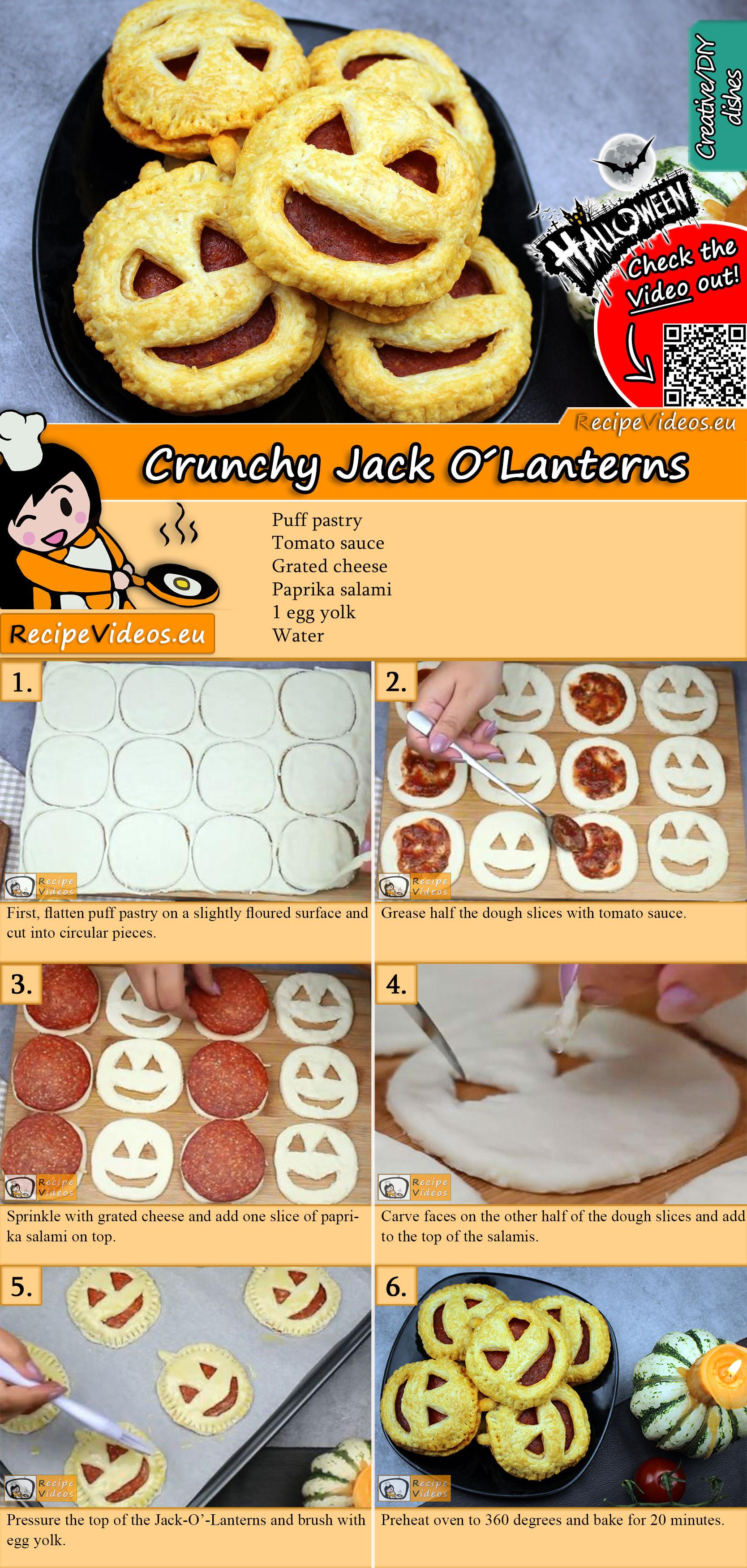 Crunchy Jack-O'-Lanterns recipe with video