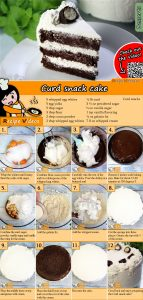 Curd snack cake recipe with video