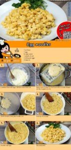 Egg noodles recipe with video