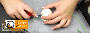 Egg eyes recipe, how to make Egg eyes step 1