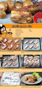 Garlic spare ribs recipe with video
