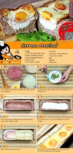 German Meatloaf recipe with video