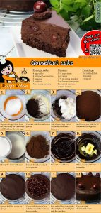Goosefoot cake recipe with video