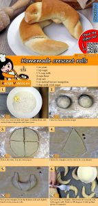Homemade crescent rolls recipe with video
