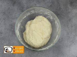 Homemade lángos recipe, prepping Homemade lángos step 2