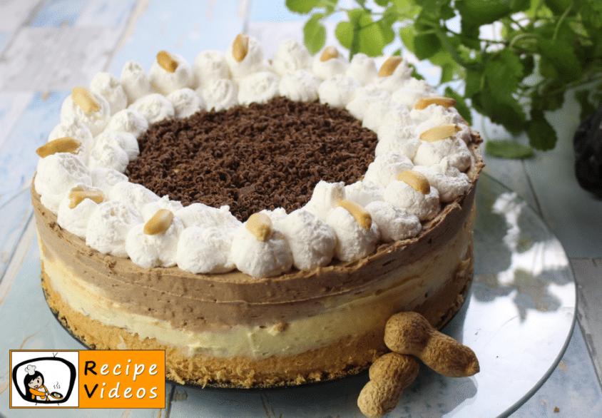 Kinder Bueno cake recipe, prepping Kinder Bueno cake step 15