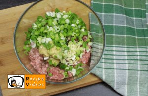 Meatballs stuffed with eggs recipe, prepping Meatballs stuffed with eggs step 1