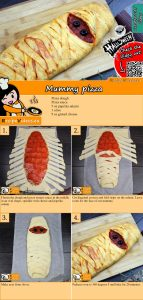 Mummy pizza recipe with video
