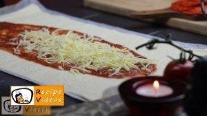 Mummy pizza recipe, how to make Mummy pizza step 1