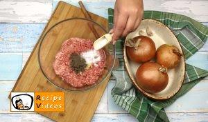 Stuffed onion rings recipe, how to make Stuffed onion rings step 2
