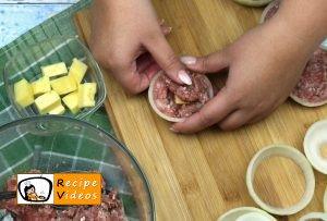 Stuffed onion rings recipe, prepping Stuffed onion rings step 6